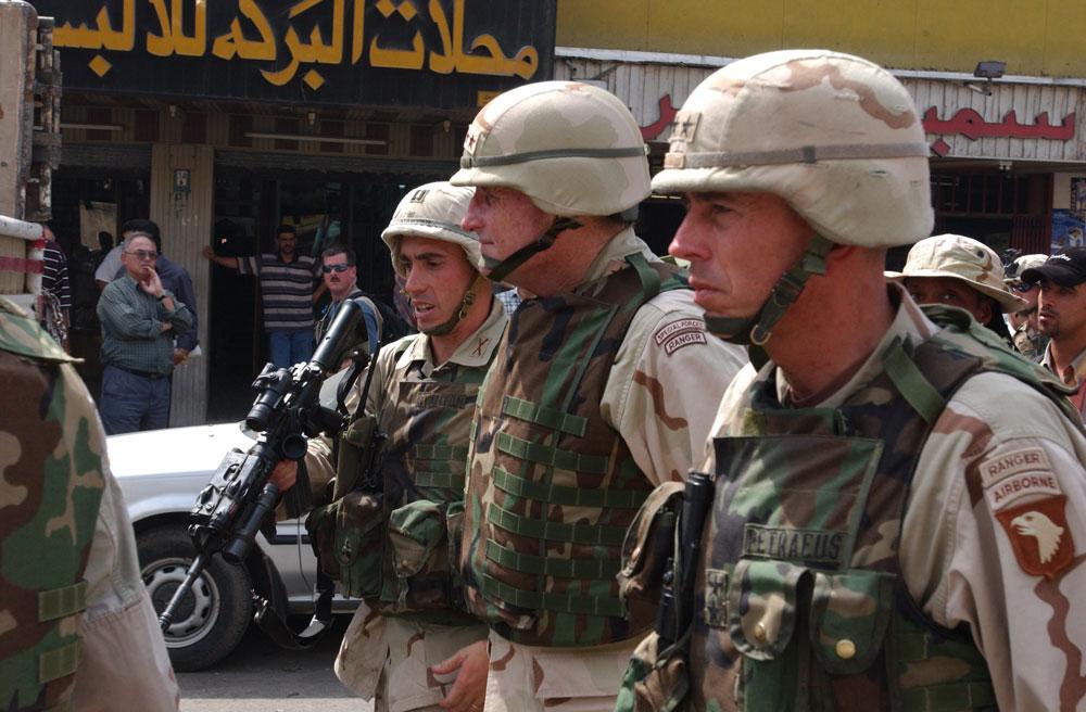 Pertama Kali Pasukan AS Terjun Dalam Pertempuran Mosul