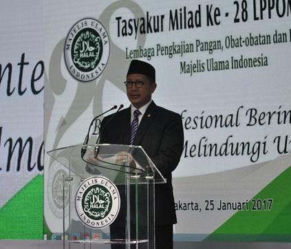 Menteri Agama: LPPOM MUI Penting bagi Umat Islam