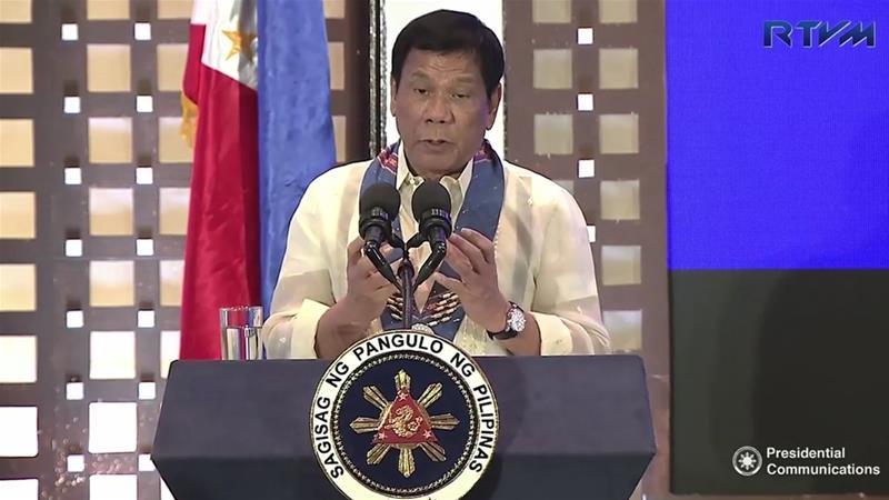 Presiden Filipina Akan Terapkan Darurat Militer Jika Narkoba Memburuk