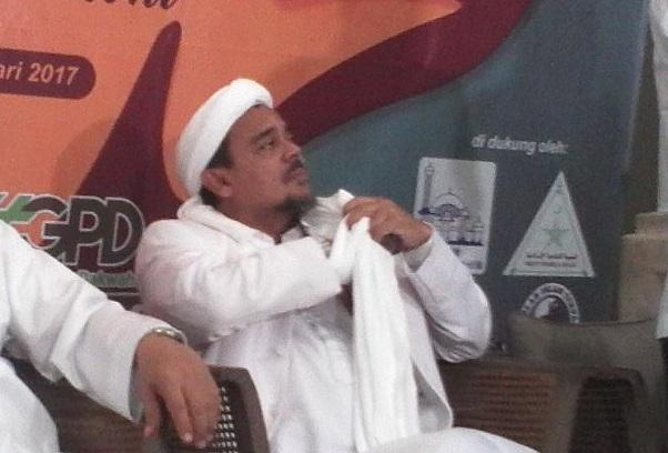 Habib Rizieq Jelaskan Kronologis Insiden GMBI di Bandung
