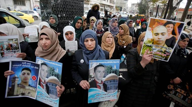 Ribuan Pelayat Hadiri Pemakaman Dua Warga Palestina Dibunuh Israel
