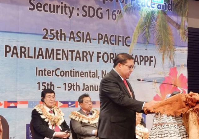 Indonesia Usulkan Enam Draft Resolusi Dalam Sidang APPF