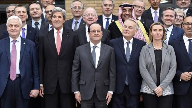 """Konferensi Paris: Solusi Dua Negara Palestina-Israel """"Satu-satunya"""" Cara"""