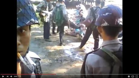 Polisi Myanmar Penganiaya Muslim Rohingya Ditangkap