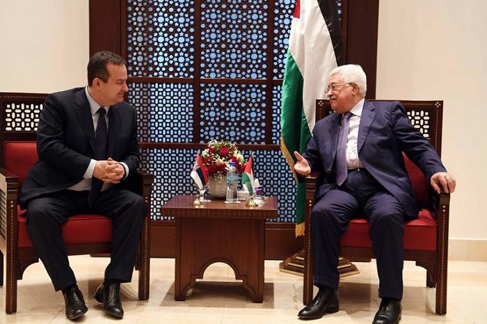 Abbas Bertemu Menlu Serbia Bahas Perkembangan Palestina Terbaru
