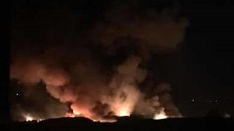 Israel Tembakkan Roket ke Pangkalan Militer Suriah