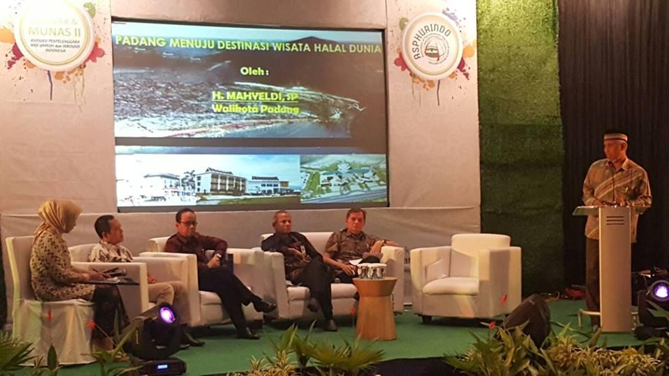Walikota Padang Minta Hotel dan Restoran Dukung Wisata Halal