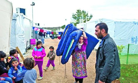 Saudi Bantu Keperluan Musim Dingin Untuk Pengungsi Suriah