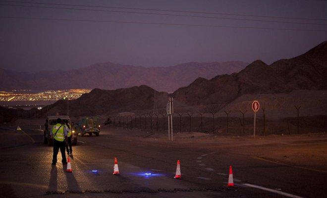 Roket Semenanjung Sinai Mesir Serang Israel