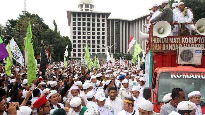 Pusat Aksi 112 Bergeser ke Masjid Istiqlal
