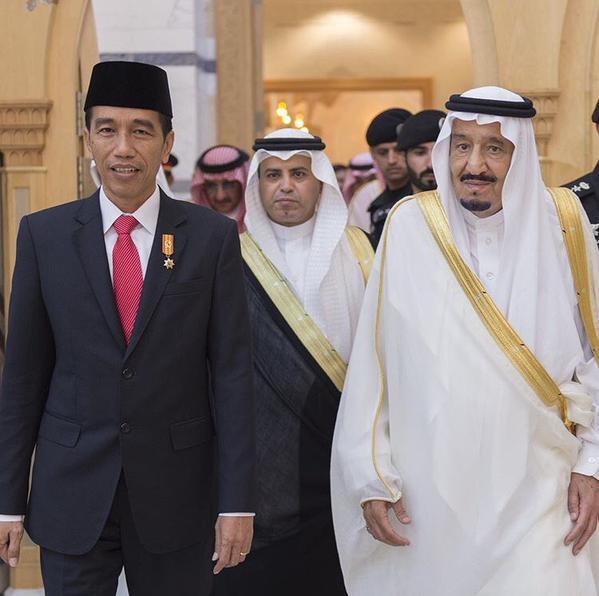 Jokowi Telepon Raja Salman, Ucapkan Selamat dan Doakan Kesembuhan