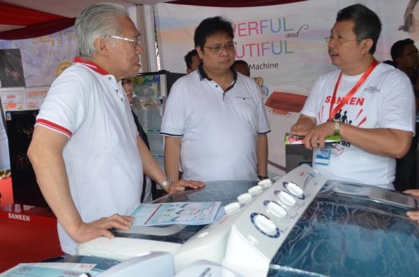 Menteri Perindustrian Ajak Masyarakat Gunakan Produk Dalam Negeri