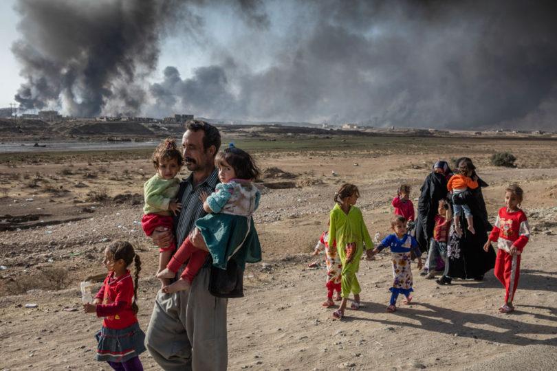 UNHCR Fokus Bangun Kamp Lindungi 250.000 Warga Mosul