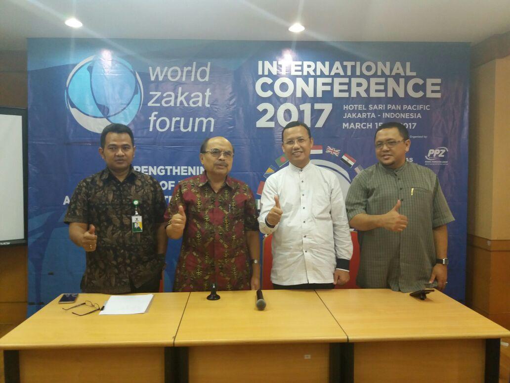 Konferensi Zakat Dunia 2017 Diadakan di Indonesia