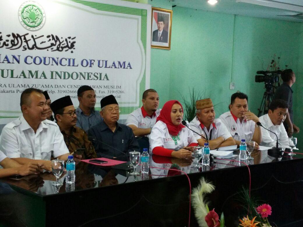 ACTA Berikan Pernyataan Atas Pemeriksaan Saksi Ma'ruf Amin Dalam Sidang Ahok