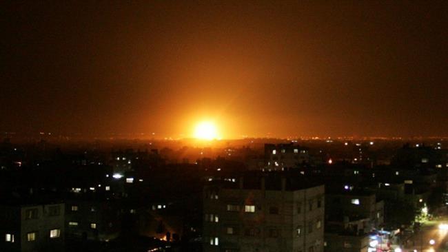 Pesawat Jet dan Drone Tempur Israel Serang Gaza