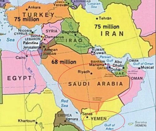 Ikatan Tauhid Palestina dan Yaman dalam Al-Quran