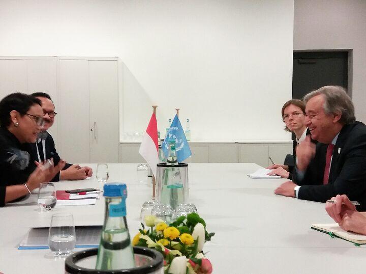 Menlu RI Dorong PBB Aktif Terhadap Proses Perdamaian Palestina-Israel