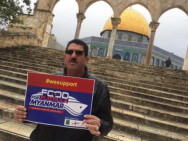 """Misi Kemanusiaan """"Food Flotilla for Myanmar"""" Menarik Perhatian Rakyat Palestina"""
