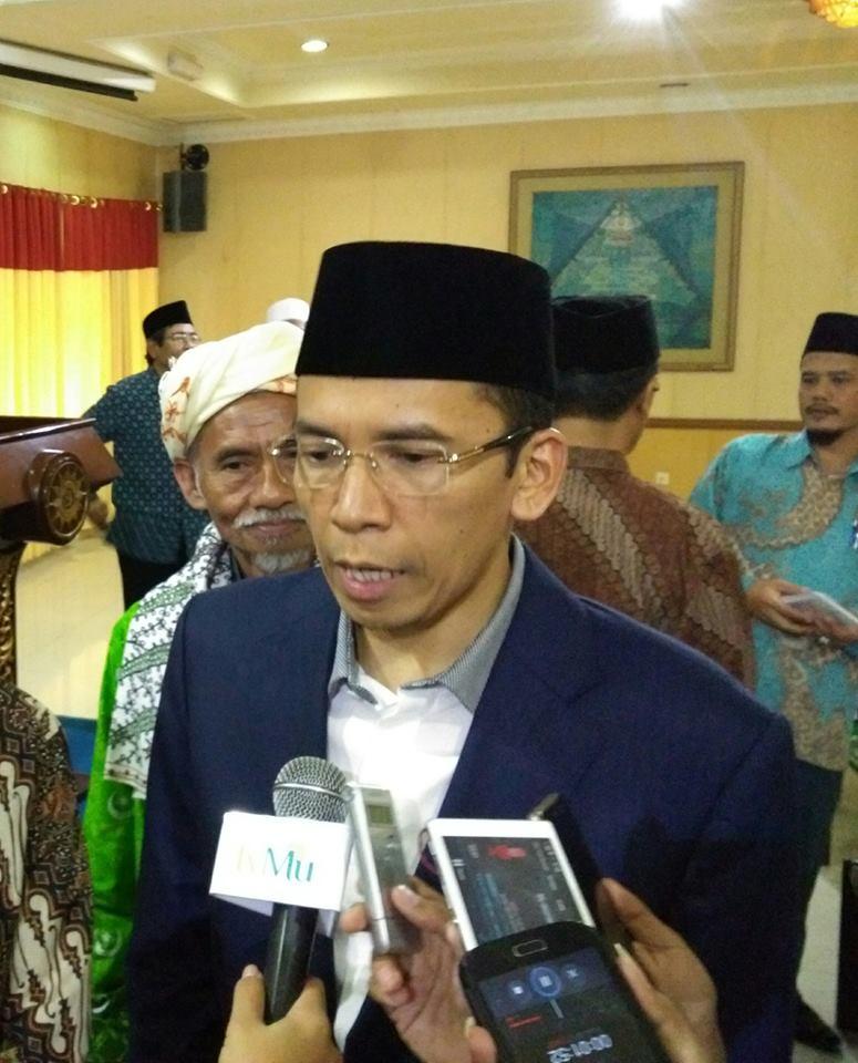 Gubernur NTB: Data Statistik Bukan Acuan Kesejahteraan Umat Islam