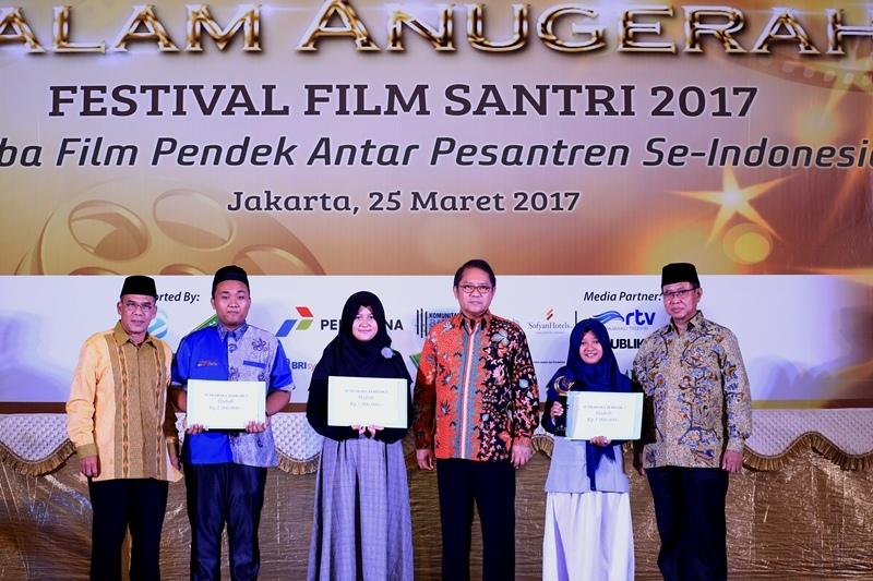 Para Pemenang Lomba Festival Film Santri 2017
