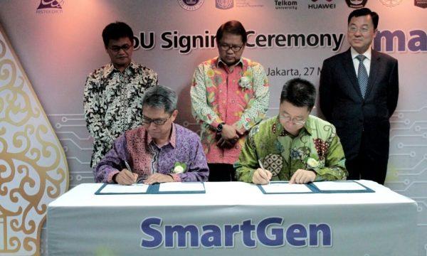 Kemenristekdikti Luncurkan Program SmartGen dengan Huawei Indonesia