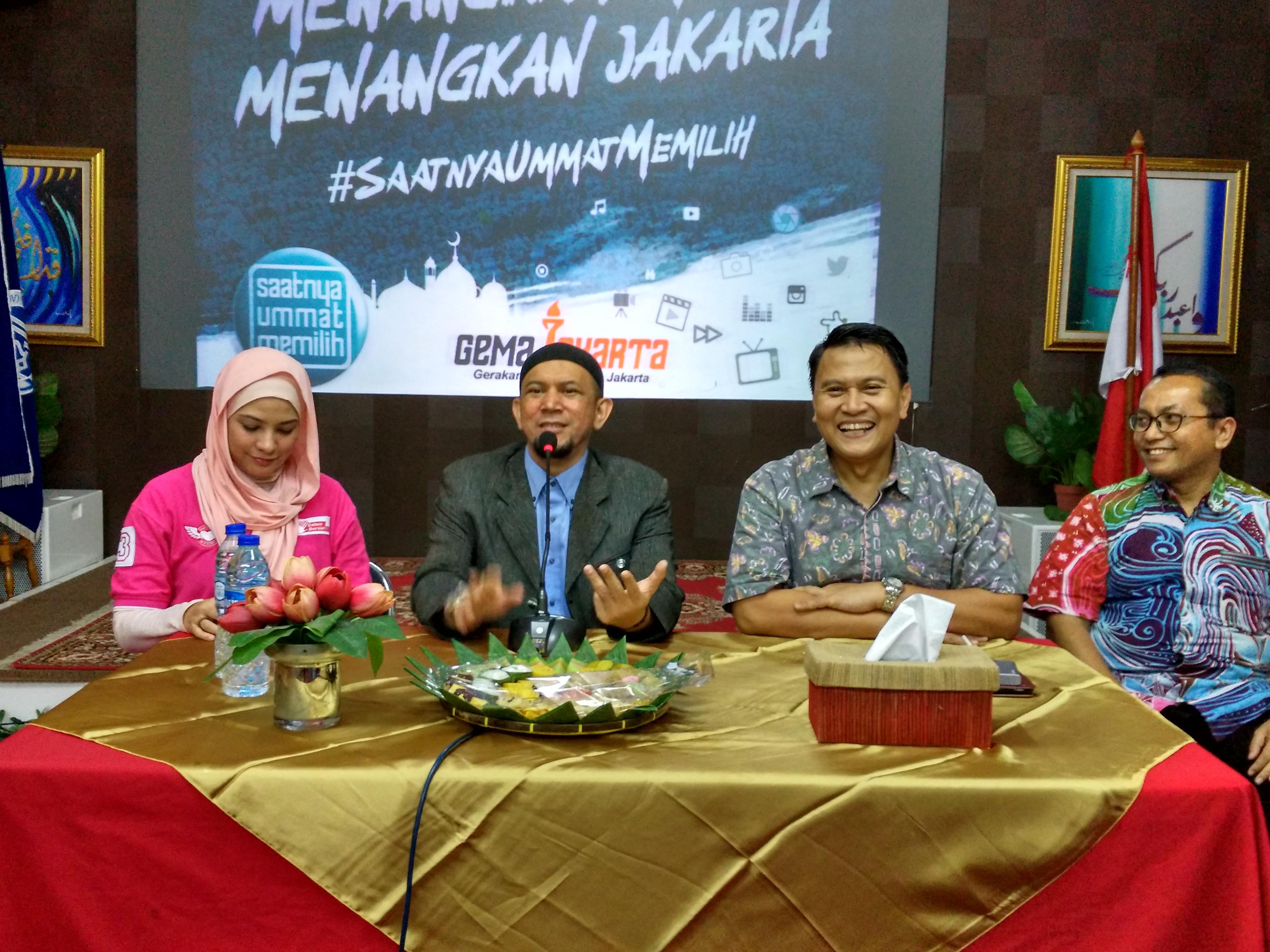 GEMA Jakarta Siap Turunkan Jawara di Seribu TPS
