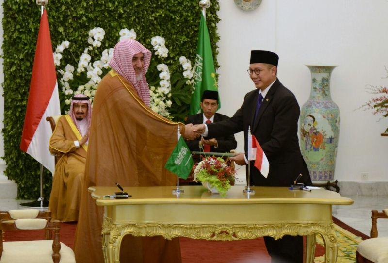Menteri Agama Tandatangani Nota Kerjasama Urusan Islam Dengan Saudi