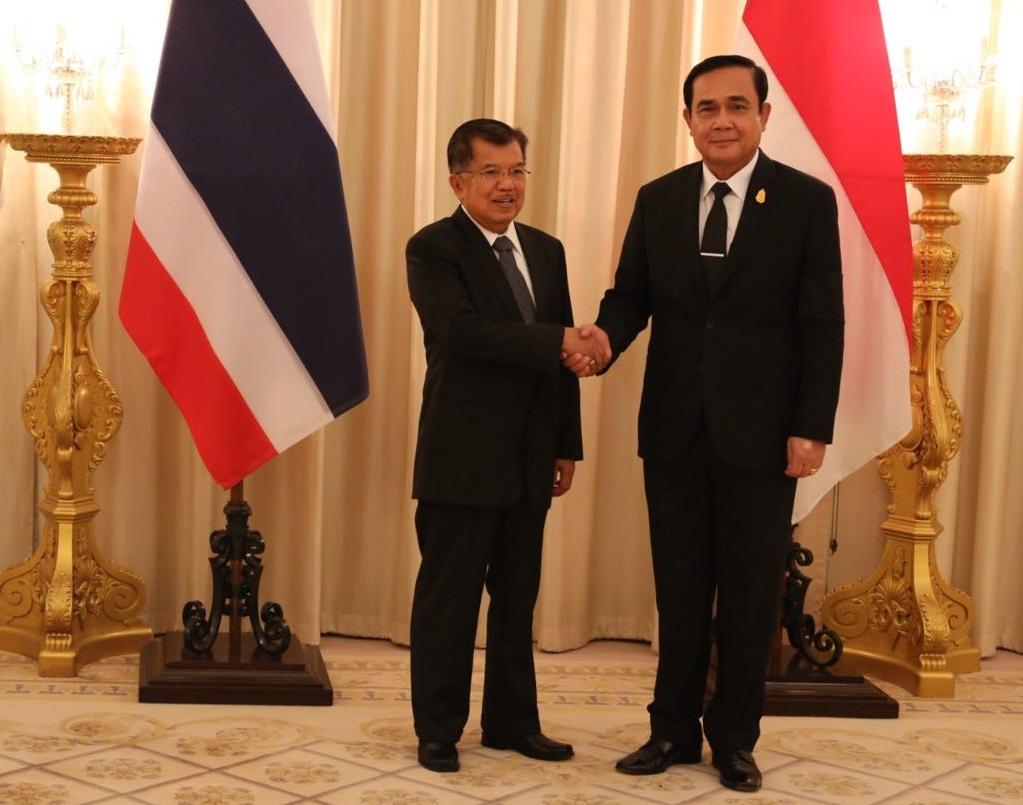 JK di Thailand : Disepakati Tindak Lanjut Kerjasama Kedua Negara