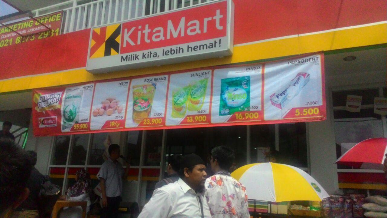 """Koperasi Syariah 212 Resmikan Minimarket""""Kita Mart"""" di Bekasi"""