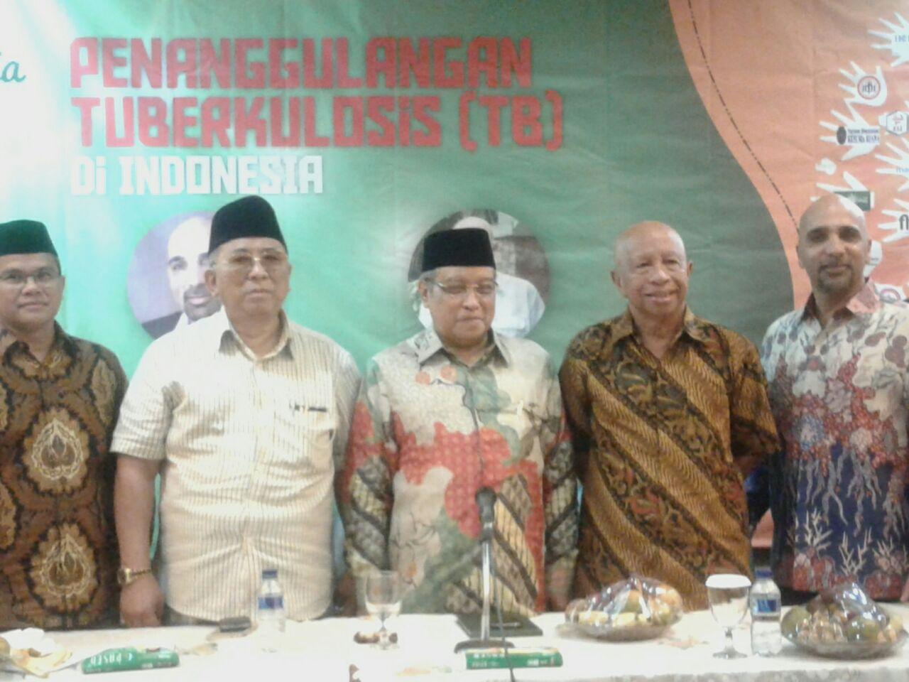Diskusi Media LKNU Tentang Rekomendasi Penanggulangan Tuberkulosis di Indonesia