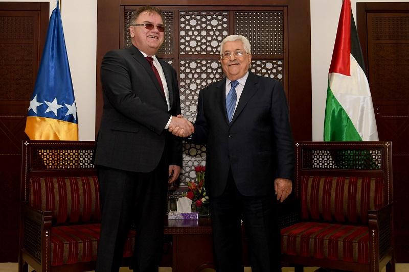 Abbas Sambut Presiden Bosnia Bahas Upaya Perdamaian Internasional Dua Negara