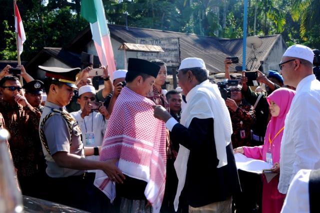 Presiden Jokowi Hadiri Silaturahmi Nasional Jam'iyah Batak Muslim Indonesia