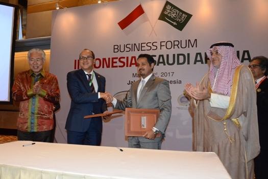 Kadin Indonesia dan Kadin Arab Saudi Sepakat Bentuk Komisi Bisnis Bilateral