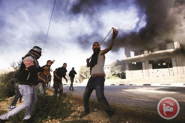 Mahasiswa Universitas Birzeit Demo, Bentrok Dengan Tentara Israel