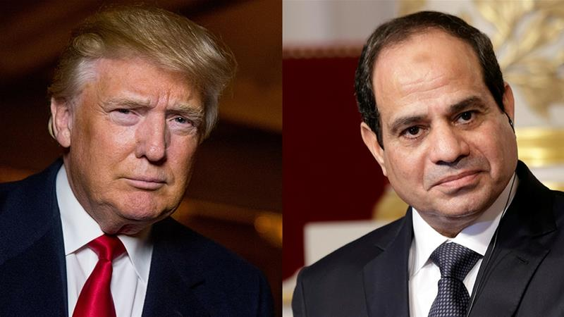 Presiden Mesir ke Washington Temui Donald Trump