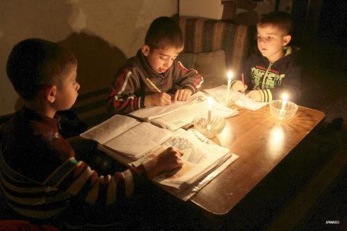 Listrik di Gaza Hanya Menyala Empat Jam dalam Sehari