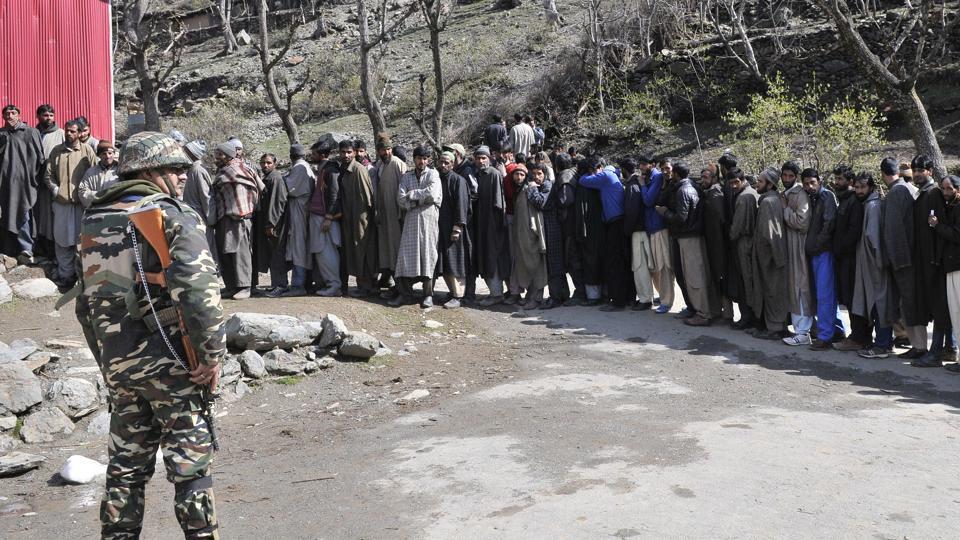 Pemilu Rusuh, Delapan Orang Tewas di Kashmir