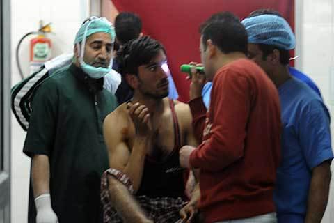 Lebih 100 Korban Luka Dirawat di RS Kashmir