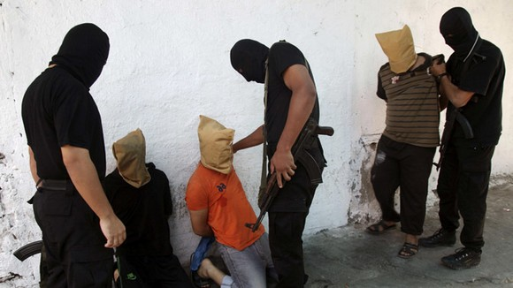Biro Keamanan Gaza Tangkap Puluhan Pengkhianat