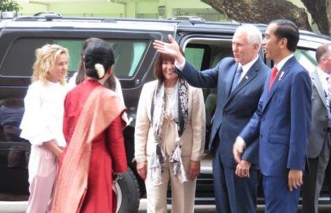 Presiden Jokowi Terima Kunjungan Wapres AS ke Indonesia