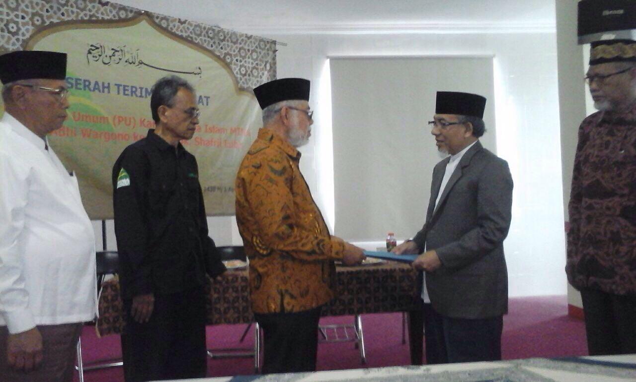 Kantor Berita Islam MINA Angkat Pemimpin Umum Baru