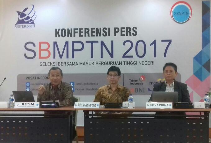 Pendaftaran SBMPTN 2017 Dibuka Selasa 11 April