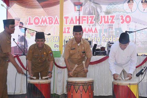 Sebanyak 1.350 Murid SMP/MTs di Padang Ikuti Lomba Juz 'Amma