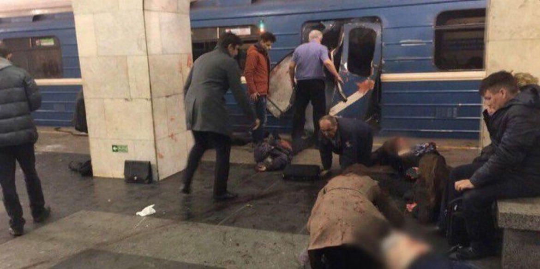 Terkini: Bom Meledak di Dua Stasiun Kereta di Saint Petersburgh Rusia