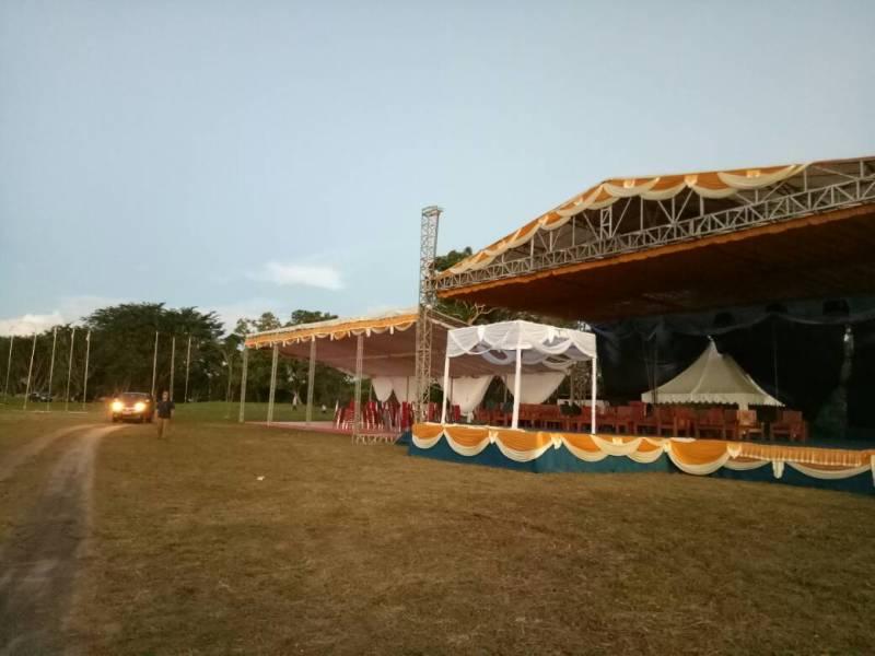 Persiapan Perkemahan Pramuka Madrasah Nasional III di Babel Hampir Final