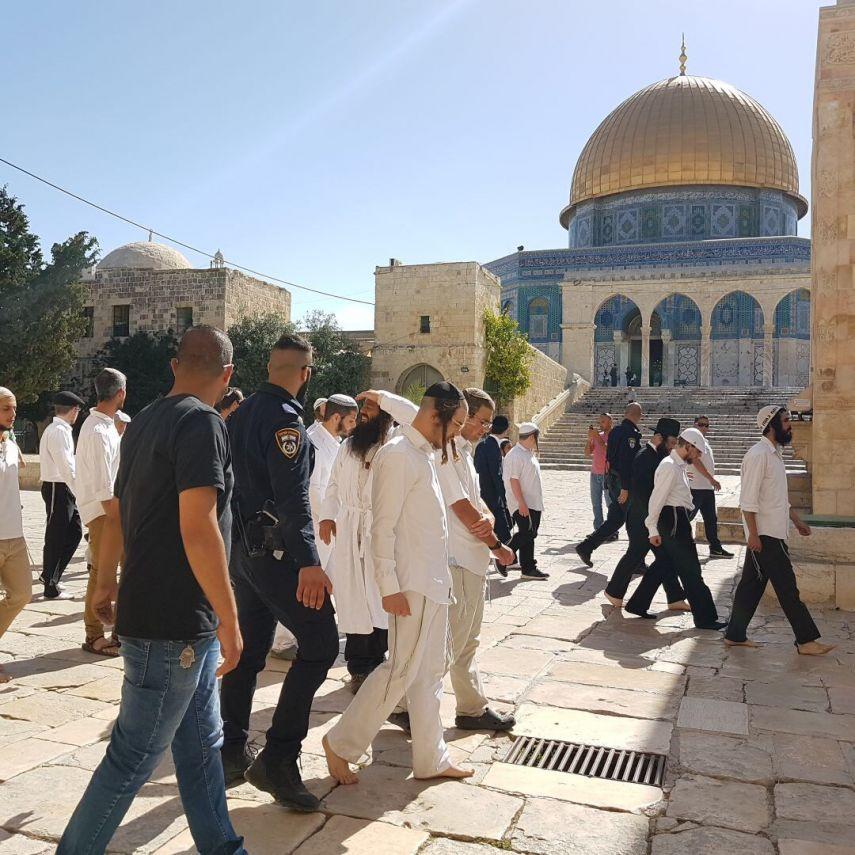 Sebanyak 300 Ekstrimis Yahudi Serbu Al-Aqsha
