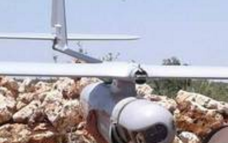 Drone Pengintai Israel Jatuh di Kota Lebanon
