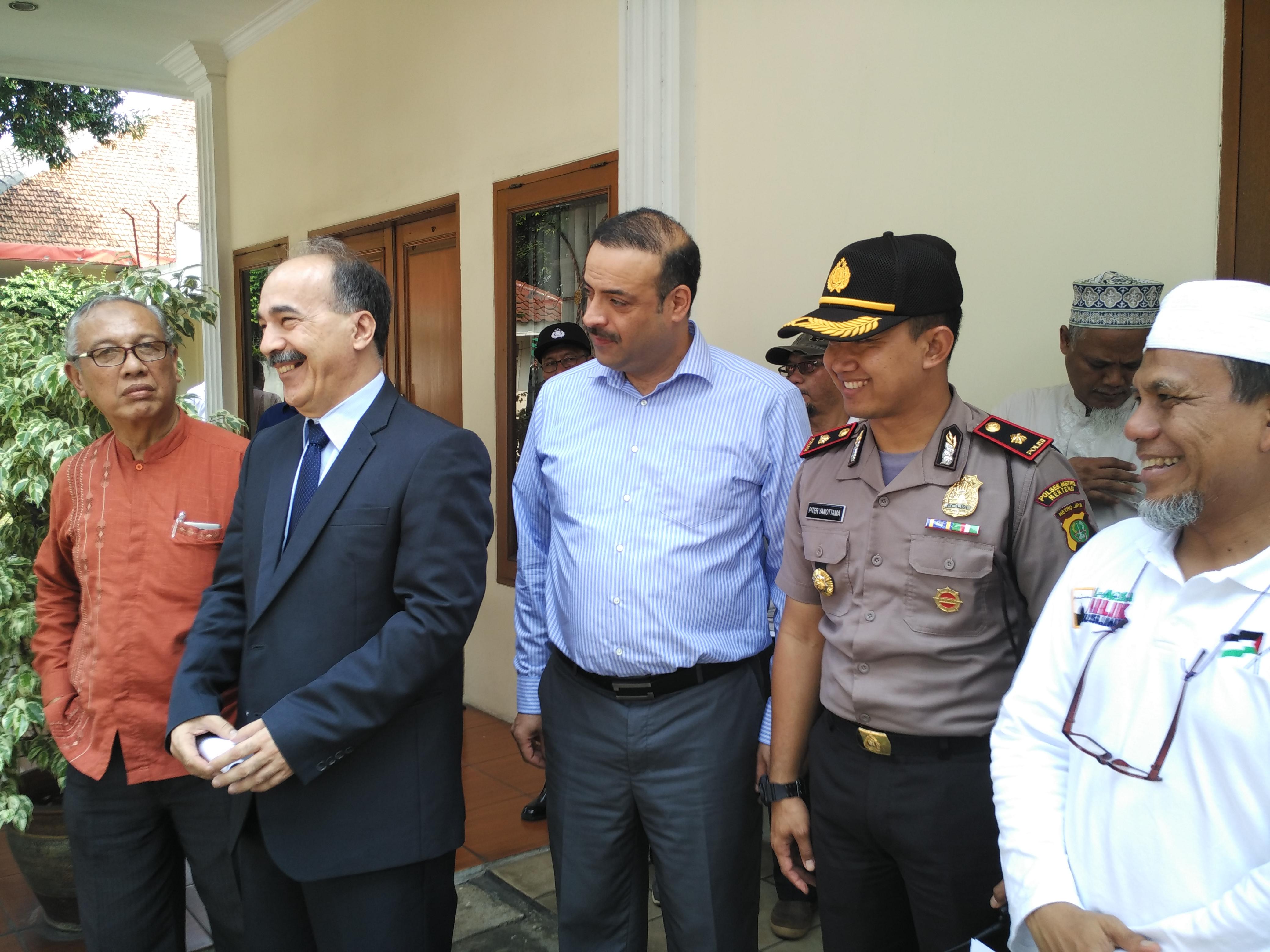 AWG Sampaikan Tuntutan Kepada Perwakilan PBB di Jakarta