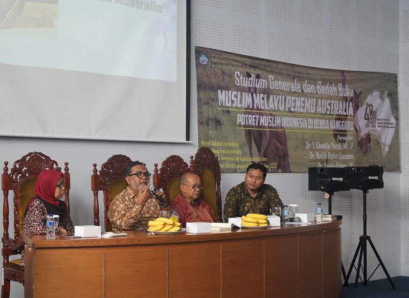 """Buku """"Muslim Melayu Penemu Australia"""" Dibedah di UIN Jakarta"""